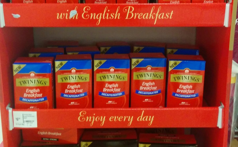 Twinings New Range In Store