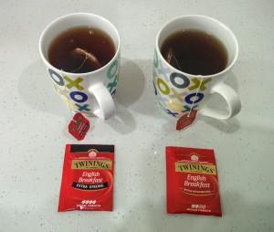 Twinings vs Twinings - Black Tea