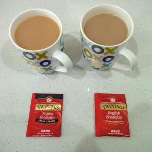 Twinings vs Twinings - White Tea